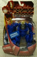 Iron Man Concept Series: Iron Monger - Blue Variant - Action Figure